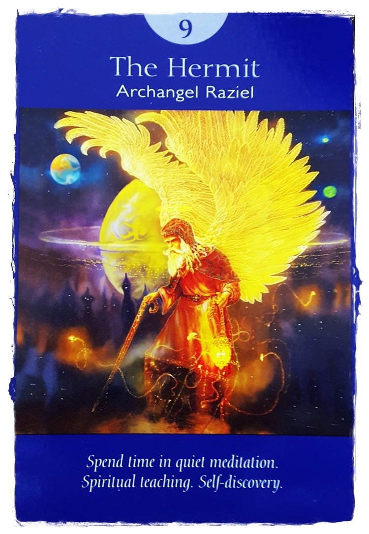 Angel Tarot ~ June 22 - TheHermit - speedykitty | ello