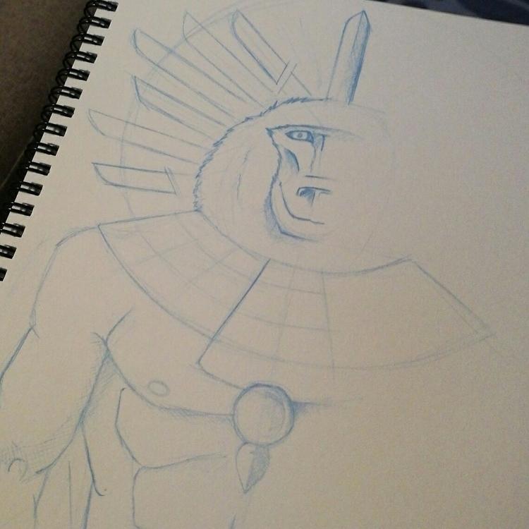 age drawing, working - characterdesignchallenge - riseofthemonkey | ello