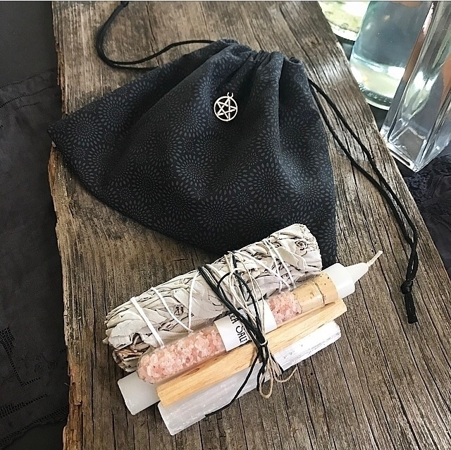 Tarot Bag Cleansing Kit listed - hearthandcrow | ello