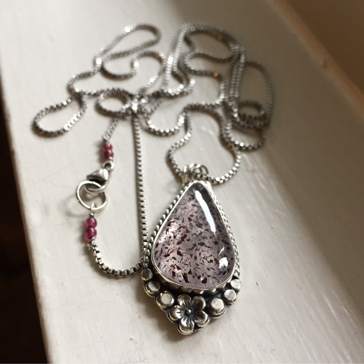 pleased custom necklace finishe - twocatsjewelry   ello