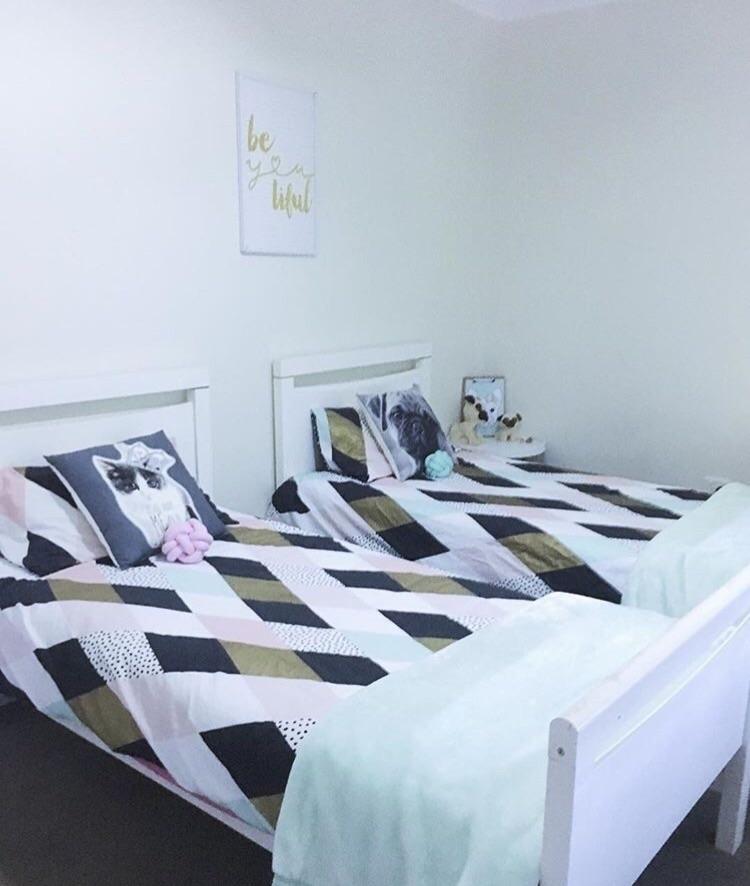 Tween Bedroom shared daughters  - mummaof3styling | ello