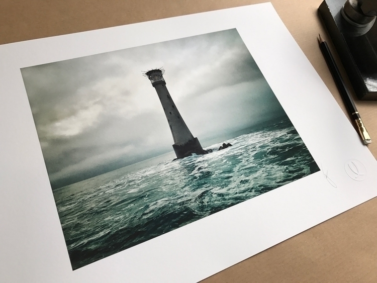 iconic Bishop Rock Lighthouse  - jacklowe | ello