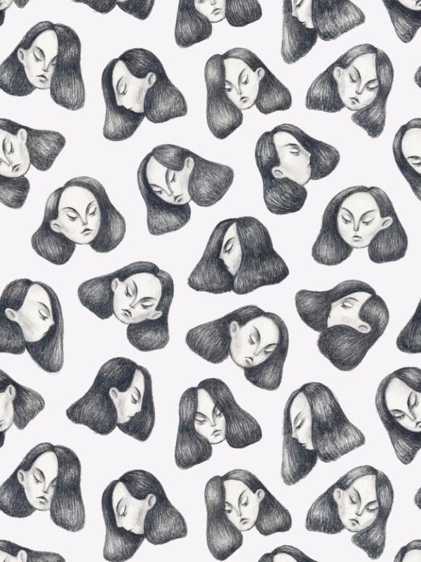 illustration, pattern, pencil - hot_tofu   ello