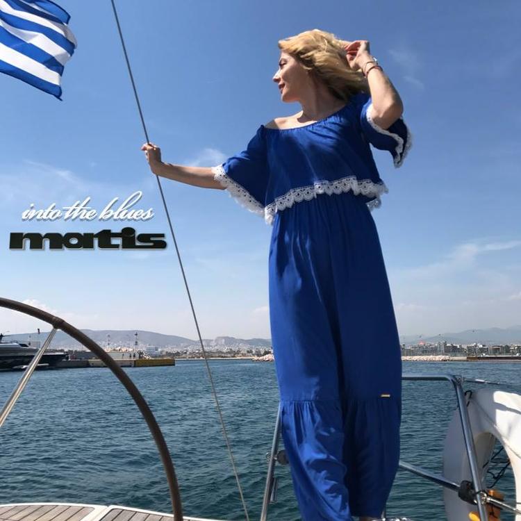 blue maxi dress add effortless  - matis_fashion | ello