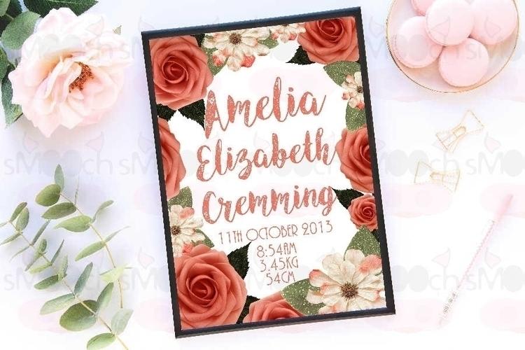 Custom Peachy Keen Floral A4 Bi - smoochdesignau | ello