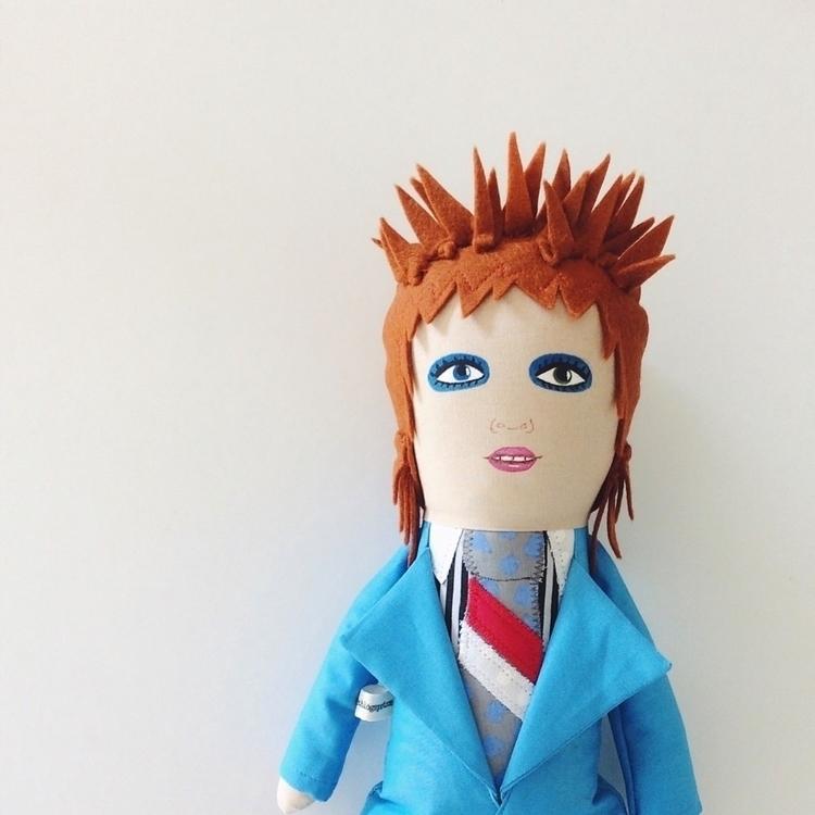 stuffed doll, hard slim face..  - alittlevintagedoll | ello