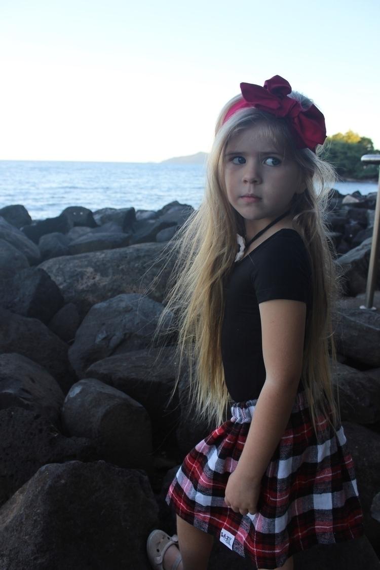 Wearing stunning tartan skirt  - picking_mulberries | ello