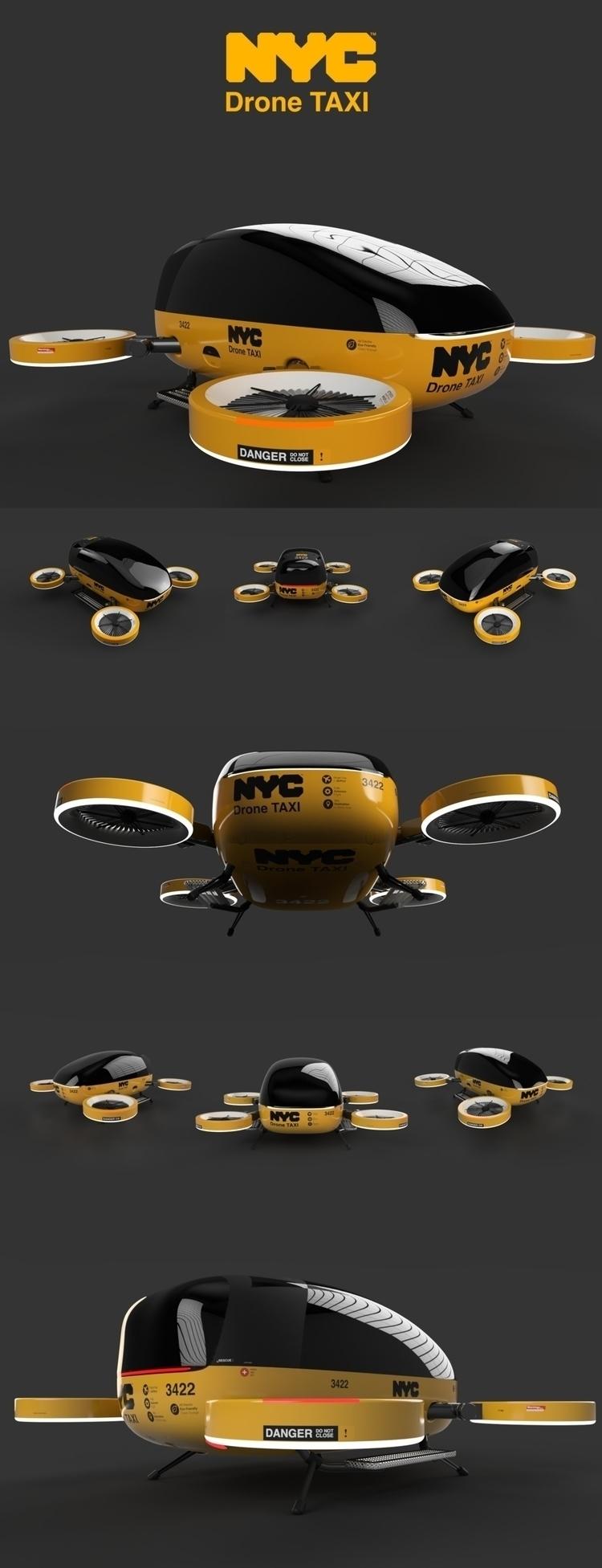 NYC Drone Taxi - emrahserdaroglu | ello