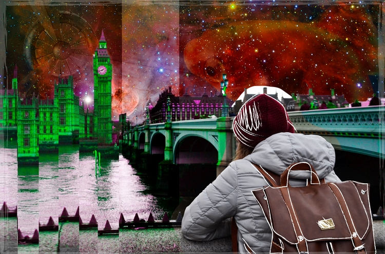 Distorted view reality - DigitalDecadeCyberia - michellepan | ello