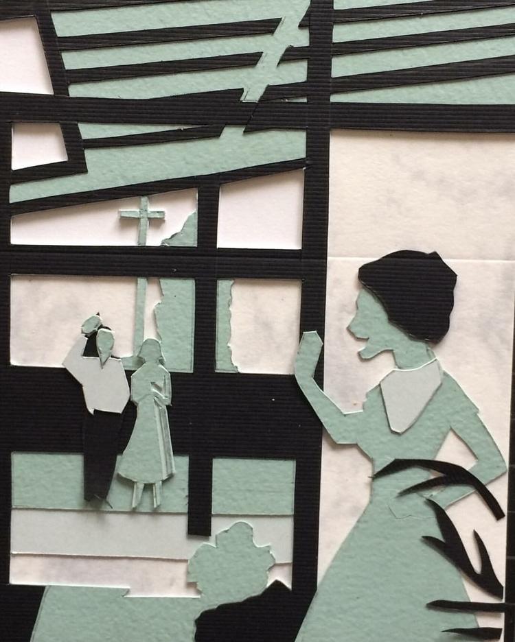 PuzzleelzzuP - papercutout, mixedmedia - whitneysanford | ello