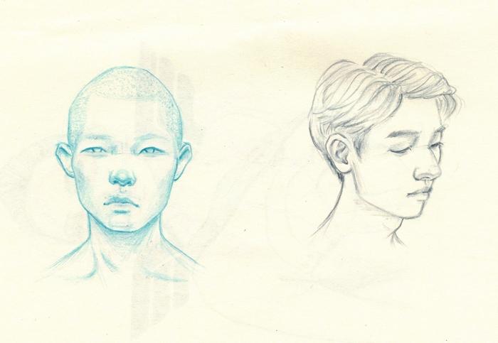 Studies (Cobalt Indigo - drawing - j0eyg1rl | ello