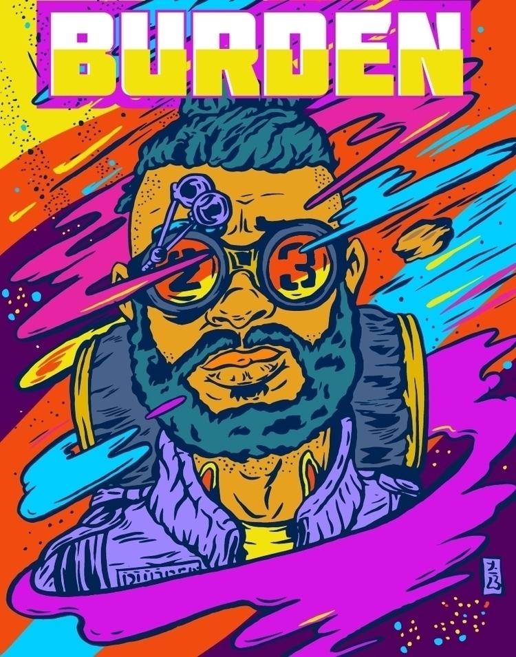 Burden Art ![img-drop](https - illustration - thomcat23 | ello
