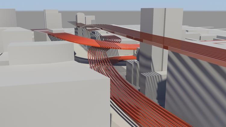 flow - 3d, rendering, design, urban - ekrstv | ello