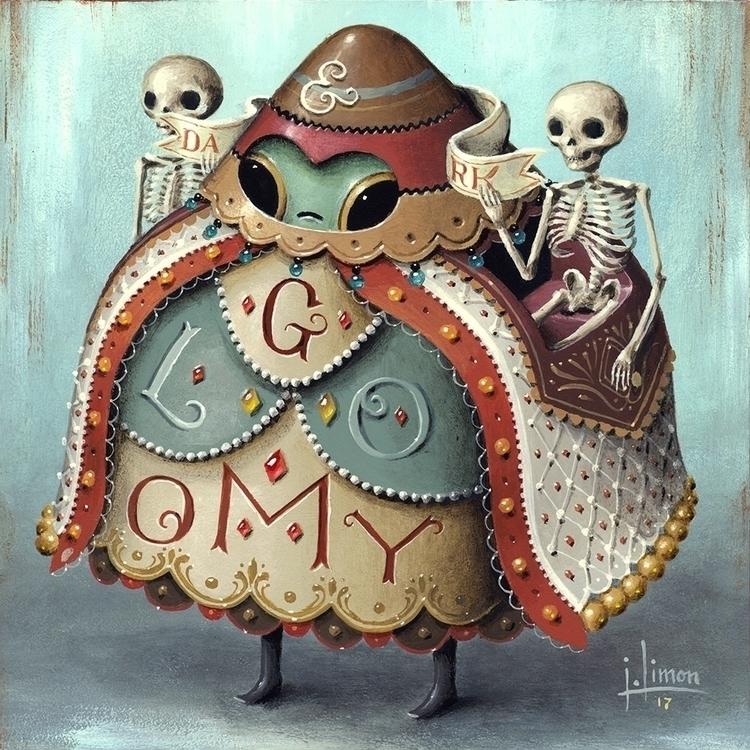 Dark Gloomy small paintings pri - jasonlimon | ello