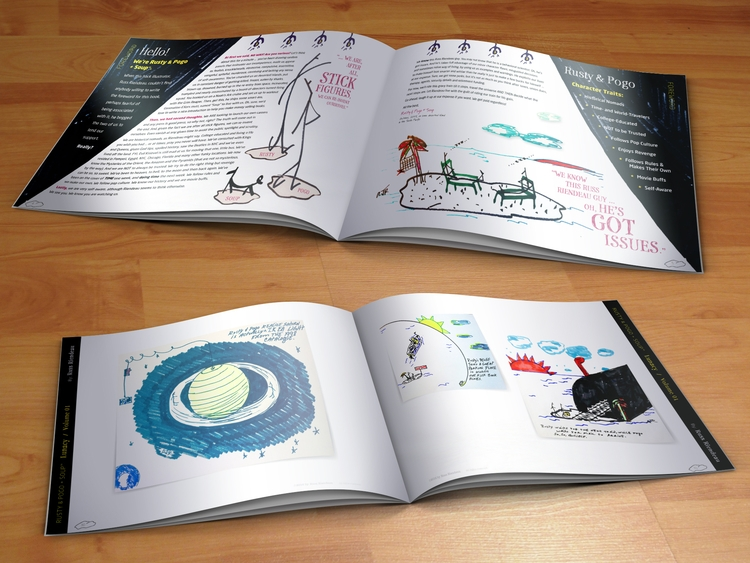 Rusty Pogo Volume • Publishing - djedge   ello