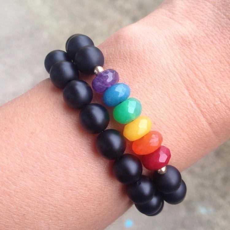 Pride month - pridemonth, rainbow - soulstacks_handmade | ello