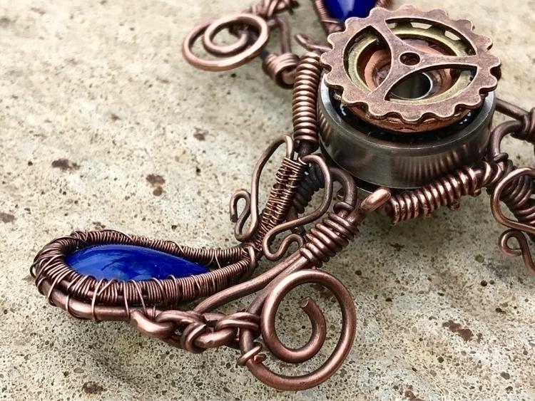 premium handmade fidget spinner - twistedleafstudio | ello