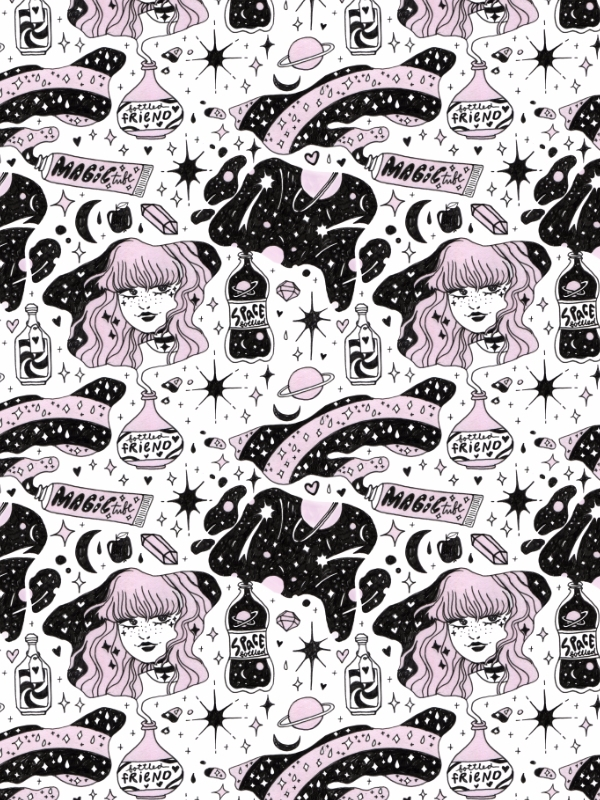 pattern, illustration, art, ink - hot_tofu | ello