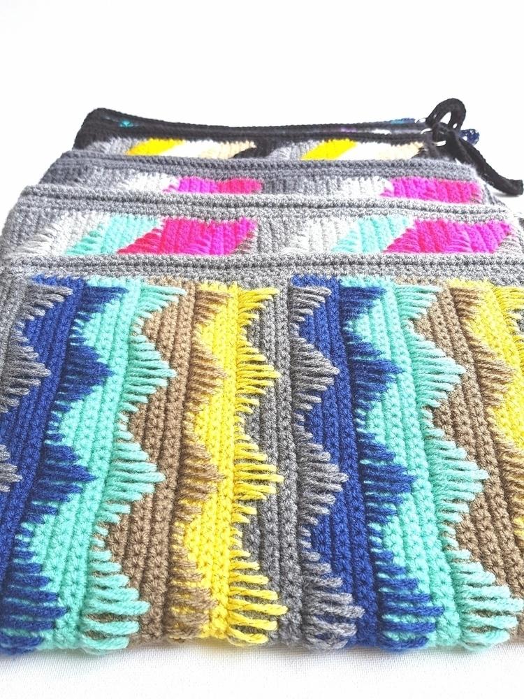 zig zags - purse, fashion, etsy - vilka | ello