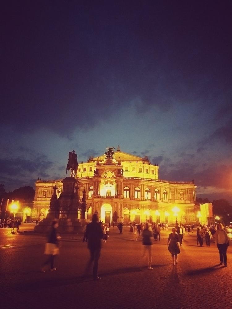 evening, square, opera, summer - claudio_g_c   ello