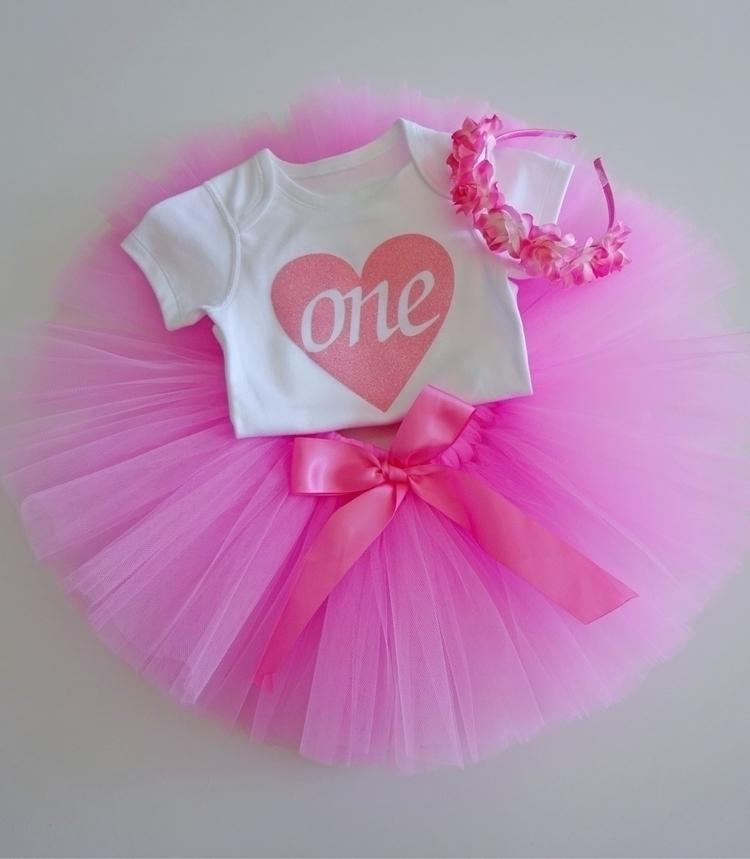 gorgeous pink birthday set $48 - sweetgigglygoo_boutique | ello