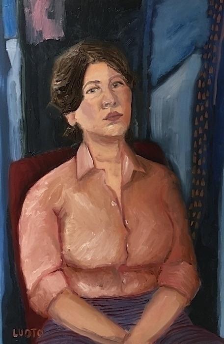 Portrait 2017, oil canvas, 36x2 - jamieluoto | ello