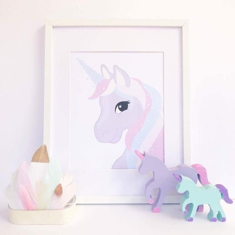 Unicorns favourite prints hangs - aprils_enchantment | ello