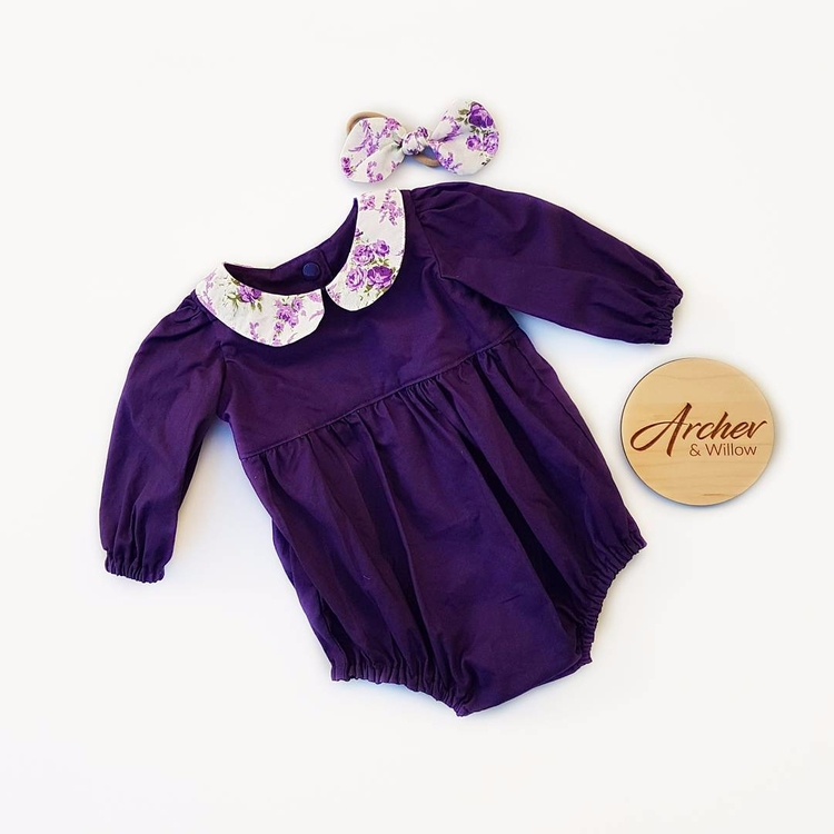Ava romper sweetest floral coll - archer_and_willow | ello
