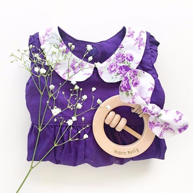 Ava romper bow pretty styled - babyfashion - archer_and_willow | ello