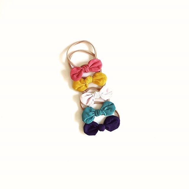 listed solid colour bows websit - archer_and_willow | ello