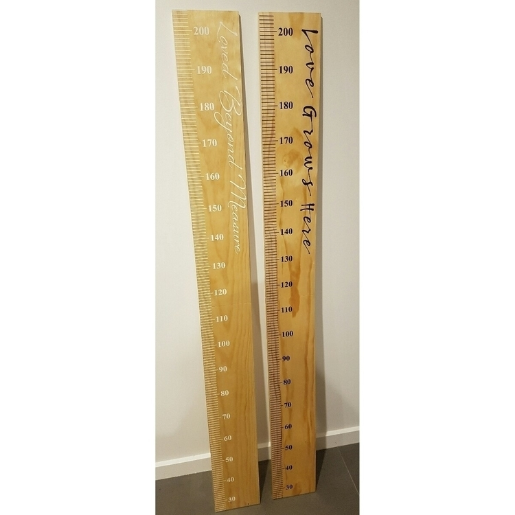 Wooden Growth Charts. ready han - hydeandseek | ello