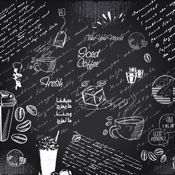 Creative wall mural - cafe, design - abooddesign | ello