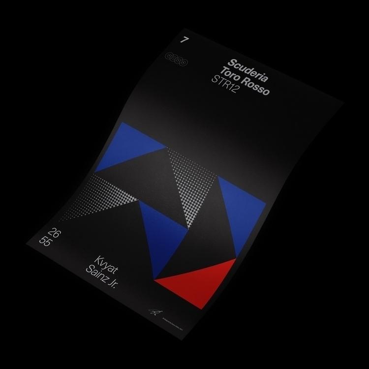 Formula Poster Series 2017 — 7 - duanedalton   ello