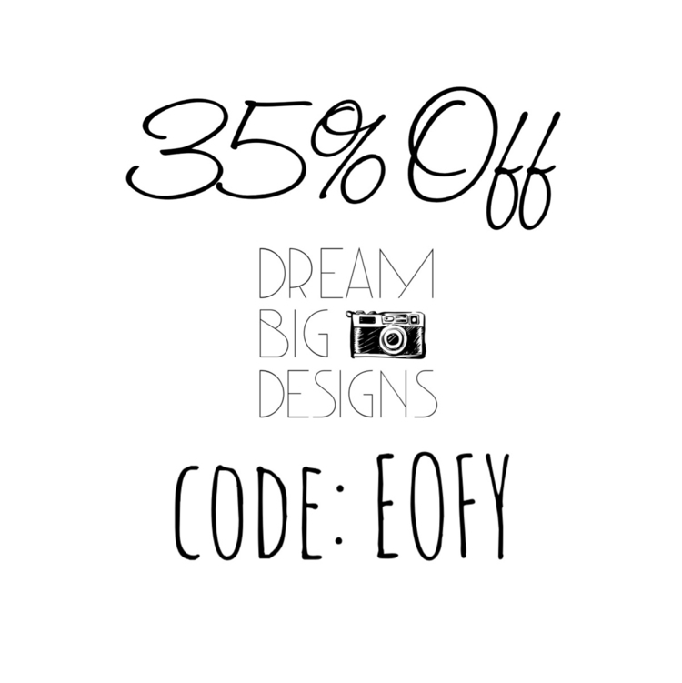financial year sale Grab 35% st - dream_big_designs | ello