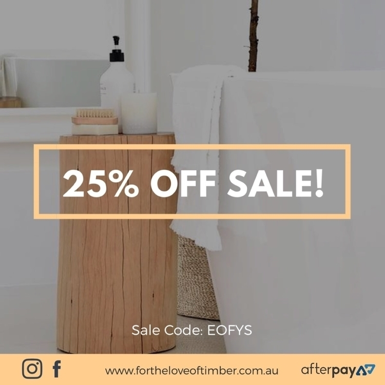 SALE TIME!! 25% Signature Piece - fortheloveoftimber | ello