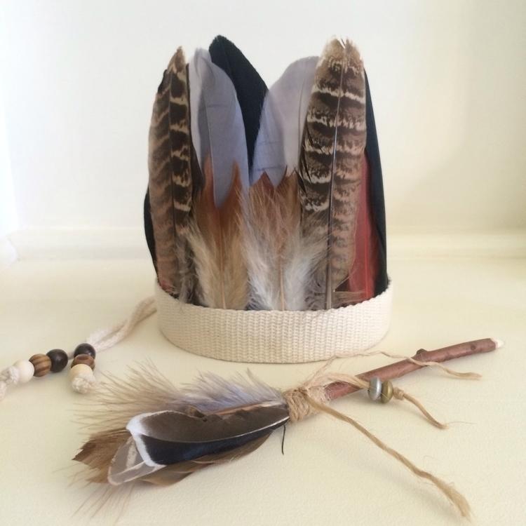 Closer Tribal Feather Headband  - atgrannysplace | ello