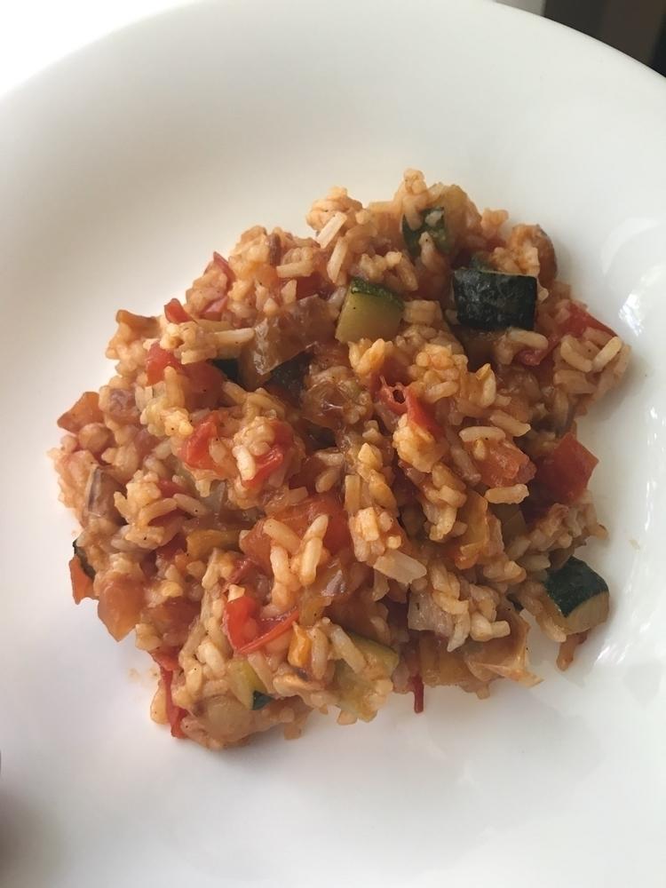 lunch, vegetarian, vegan, risotto - zacharyratic | ello