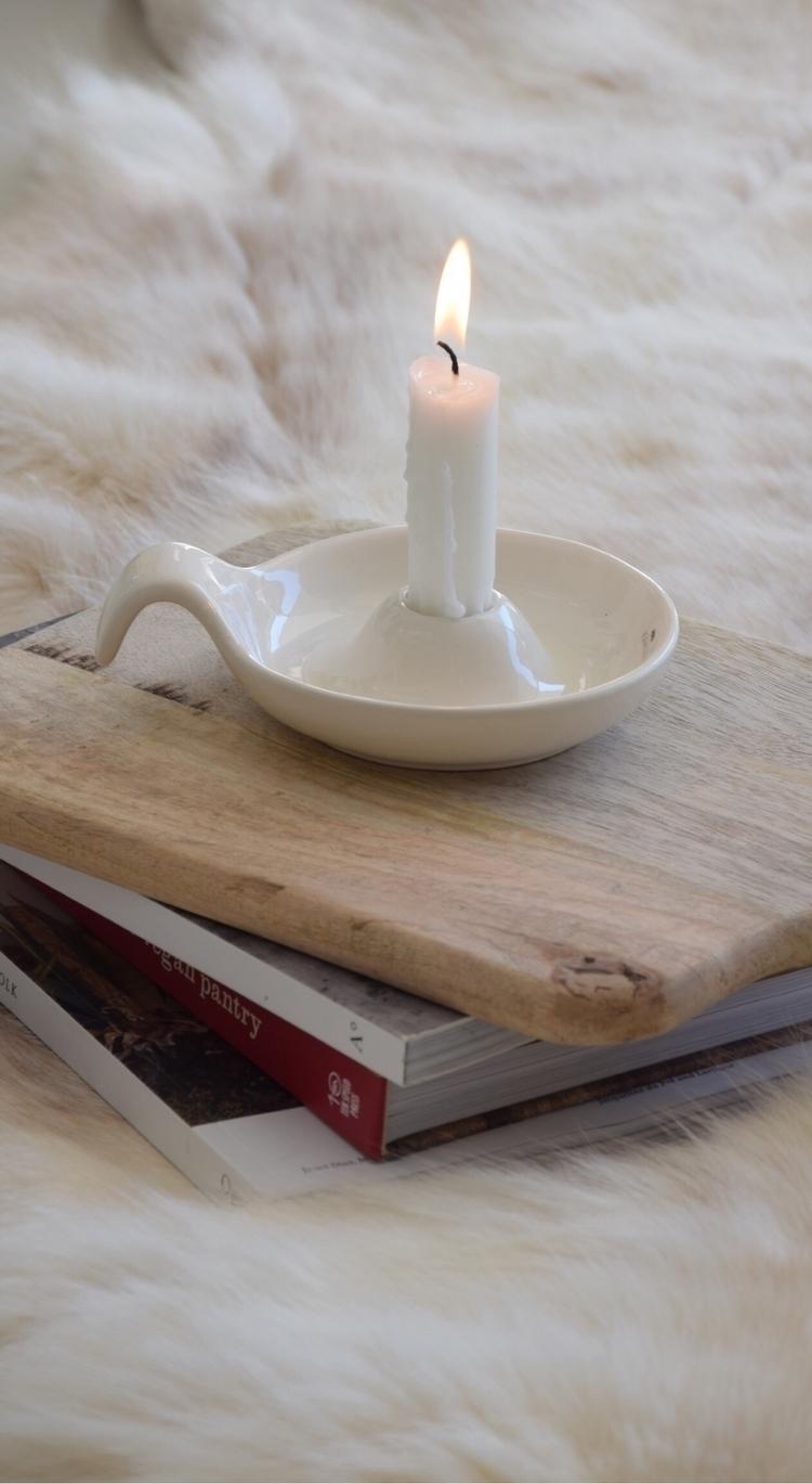 Goodnight Ello world . :candle - refinendesigns | ello