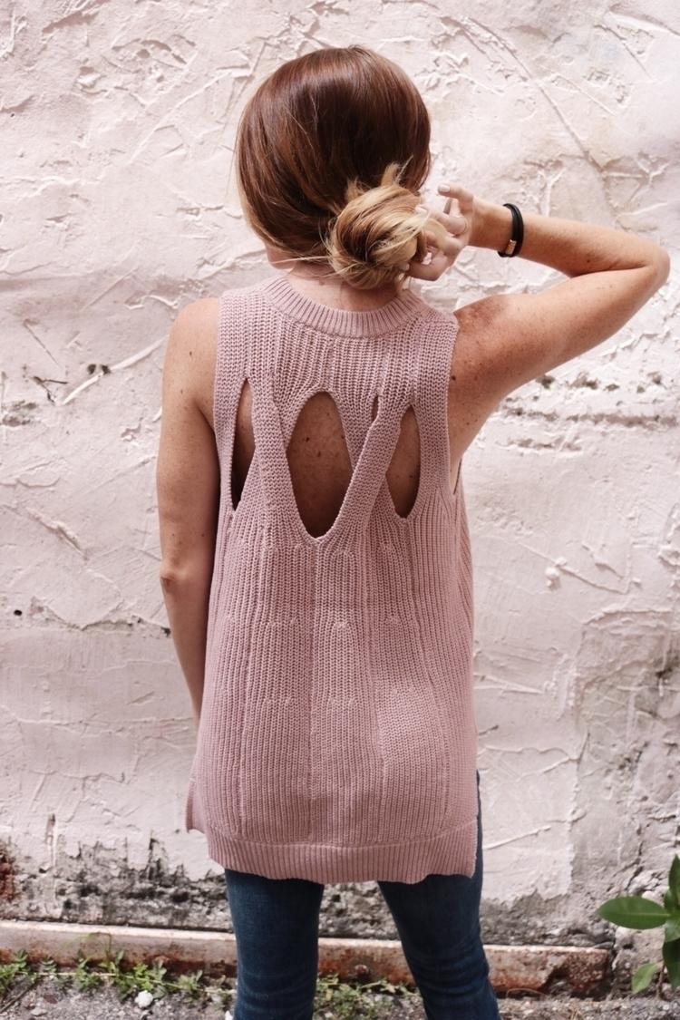 Blush knit tank + Summer = :hea - simplicityinmind | ello