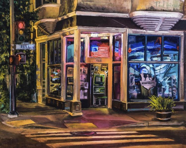 Madrone Art Bar. Oil canvas, 16 - paulhermann | ello