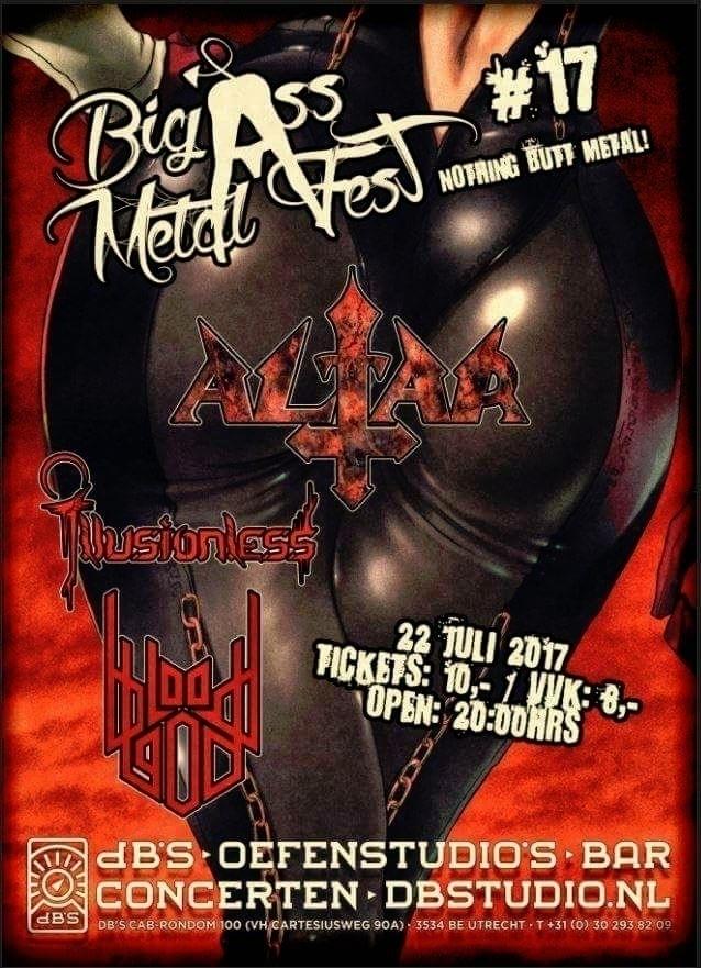 show Big Ass Metal Fest Illusio - bloodgod | ello