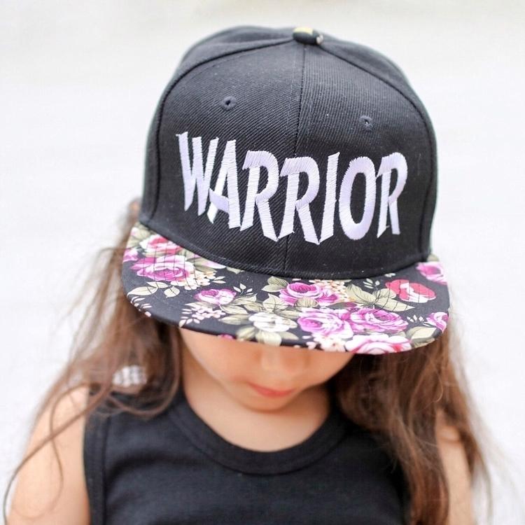 Floral Warrior SnapBack? :camer - mightywarriordesigns | ello