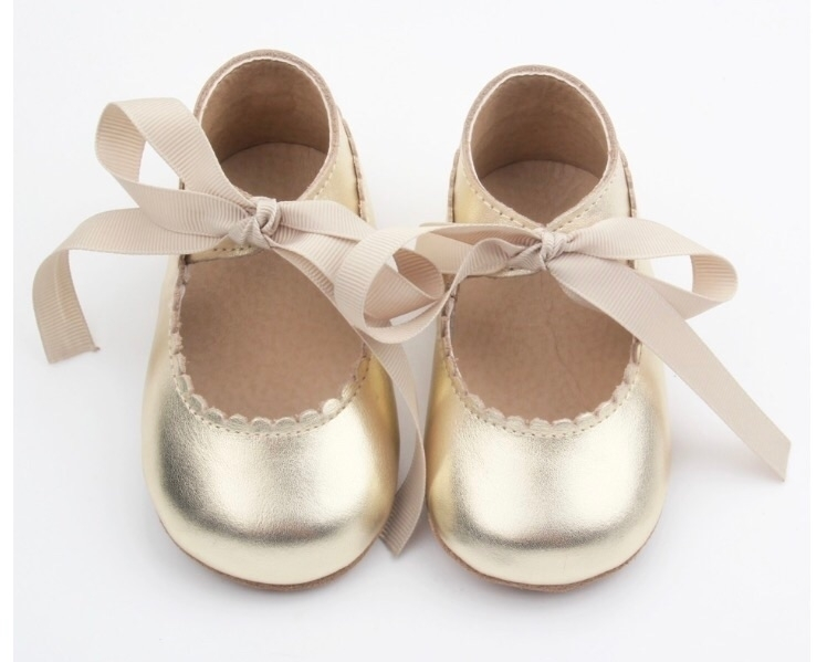 •Mary Janes• Dusty Gold adorabl - poshbubsandco | ello
