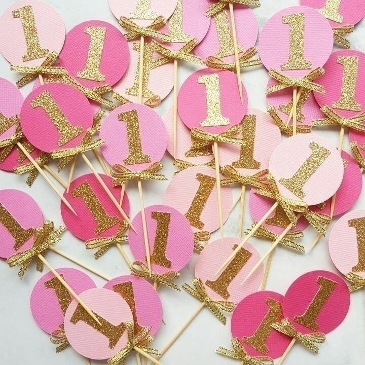 super cute ombrè pink gold '1'  - poppyandchi | ello