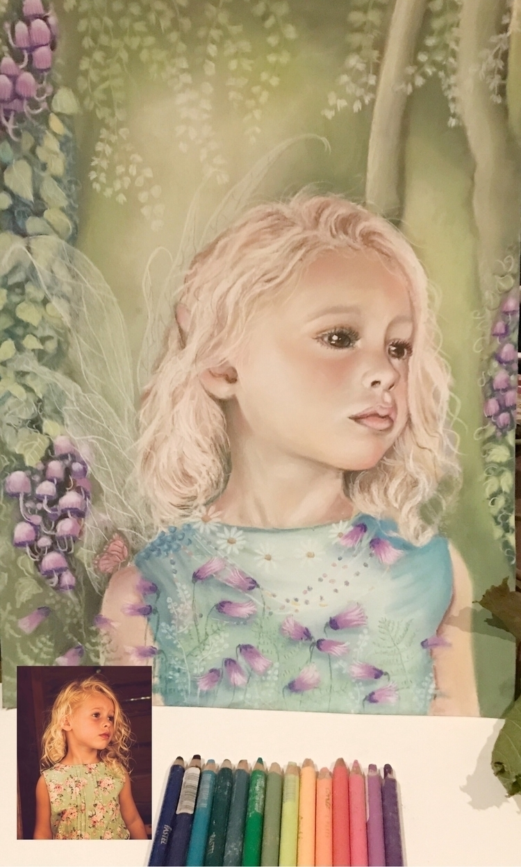 turned Ava beautiful fairy, wan - rosannahaywardportraitartist | ello