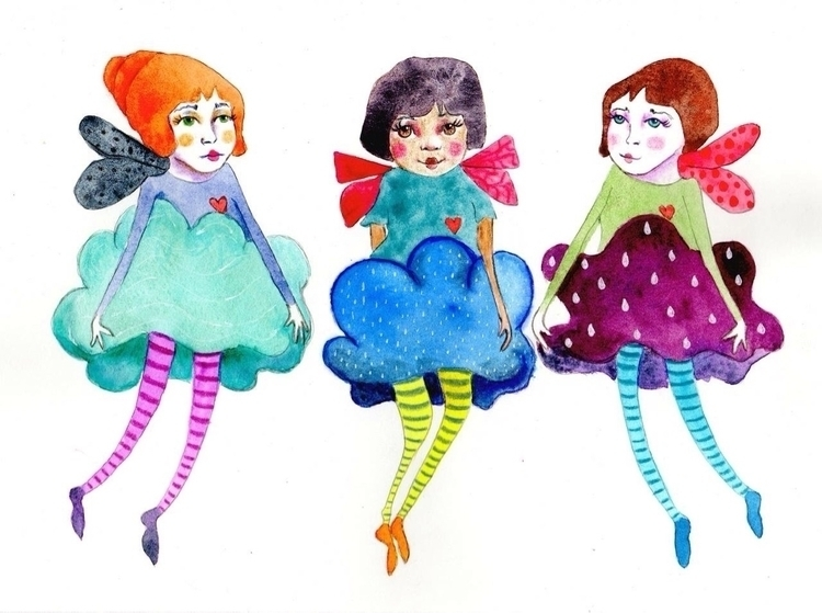 fairies! love cloud fairies wea - janecarlisle | ello