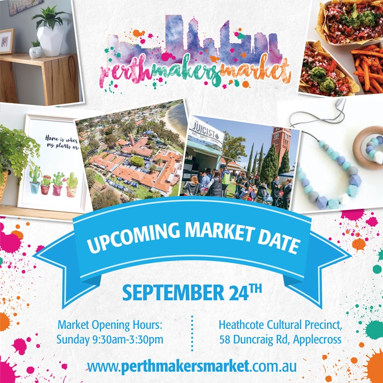 Wondering market longer! Septem - perthmakersmarket | ello