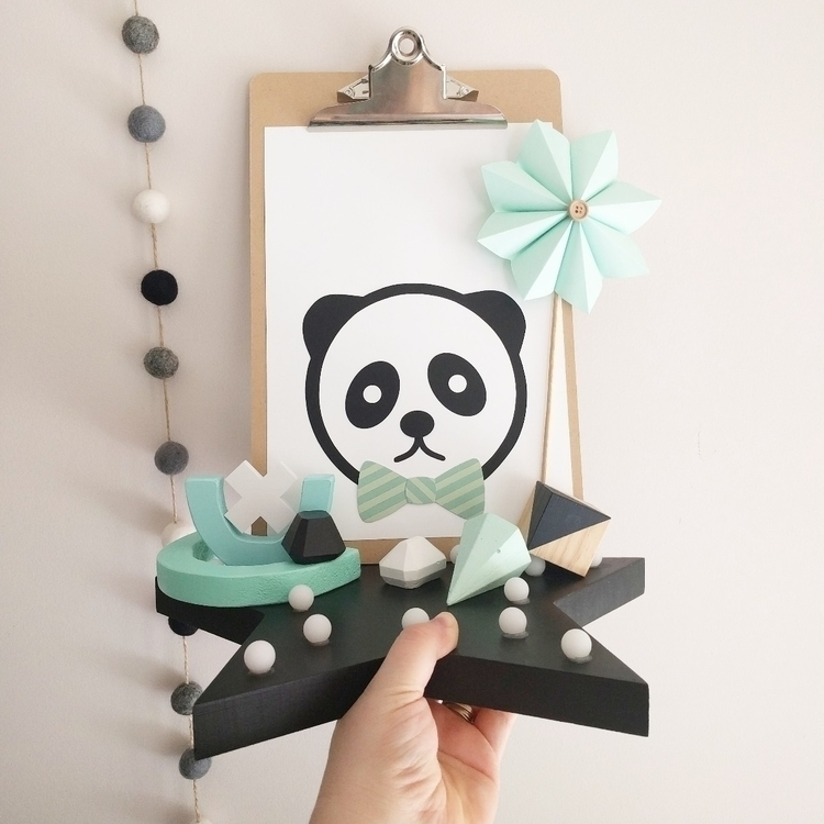 Pablo Panda Art stacklaying sty - paperlee | ello