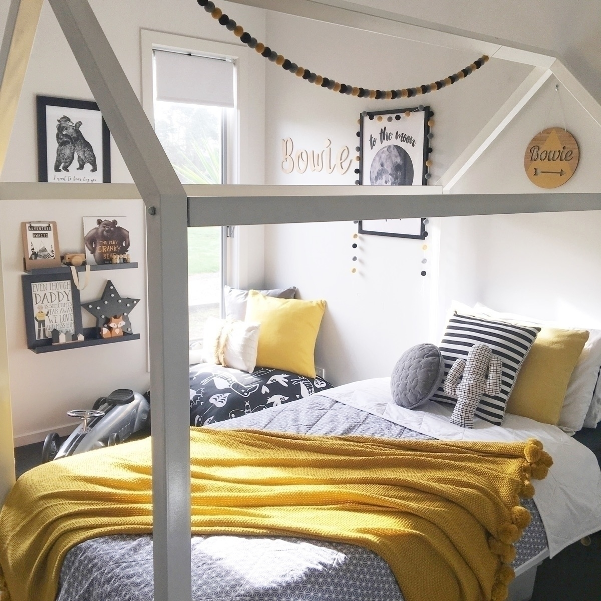 Mustard loving! sons room makeo - mrsreneeelizabeth | ello