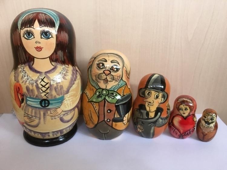 Alice wonderland BabushKa love  - dollsindolls   ello